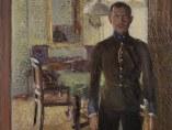 'Portrait of Lieutenant Alois Gerstl', about 1907