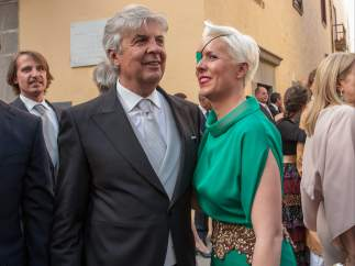 María y su padre