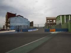 Aspecto del circuito de Valencia