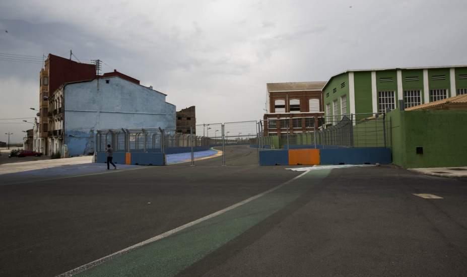 Circuito Urbano De Valencia : Foto aspecto del circuito de valencia ruina en el