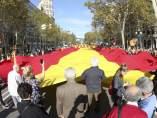 Bandera gigante en Barcelona