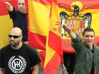 Ultras en Barcelona