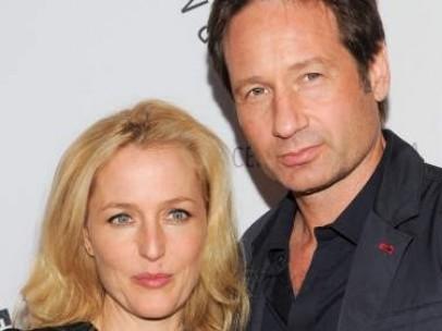 Gillian Anderson y David Duchovny