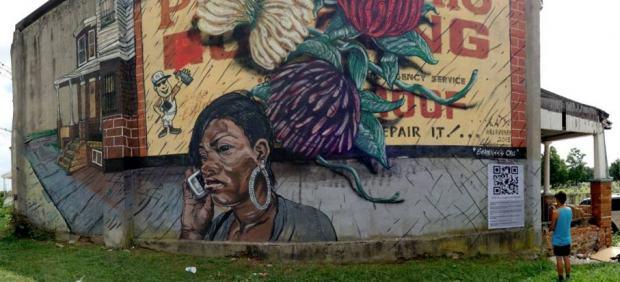 'Shawnee's call' - Lunar New Year (LNY) wall #14