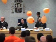 Protestas en un juicio contra Segi