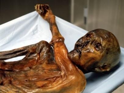 Ötzi, el 'hombre de los hielos'