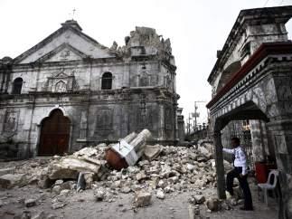 Iglesia destruida