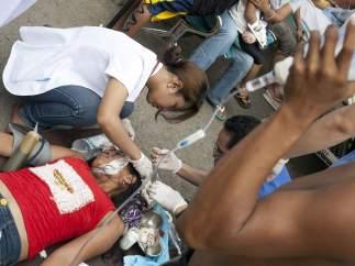 Decenas de muertos y heridos