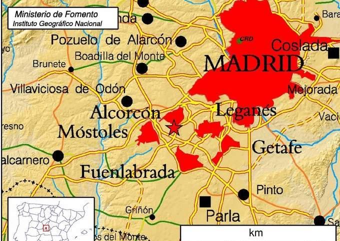Un pequeo terremoto de 23 grados afecta a la zona sur de la