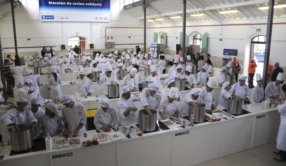 Escuelas De Cocina En Madrid   Martin Berasategui Dirige A 300 Chefs Y Elabora 2 000 Menus Para