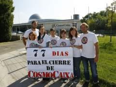 Plataforma 'No al cierre CosmoCaixa'
