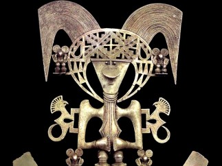 'Bird pectoral', Popayan, AD900-1600