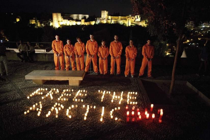 Piden la liberación de los activistas de Greenpeace