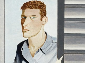 'Man with a Thistle (Self Portrait)', 1946