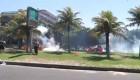 Disturbios en Brasil tras una protesta
