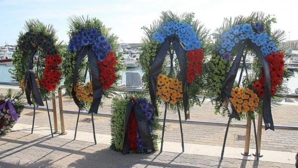 Funeral en Lampedusa