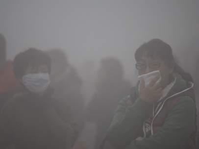 El esmog envuelve el noreste de China