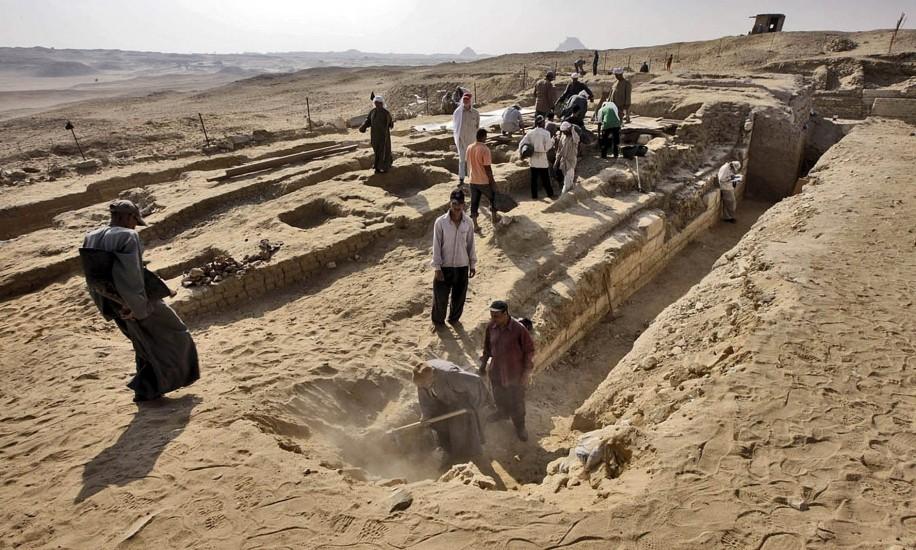 Tumba de un médico real egipcio de hace 4.000 años