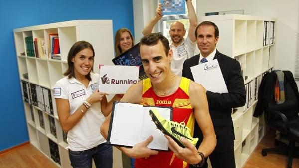 El atleta Víctor García