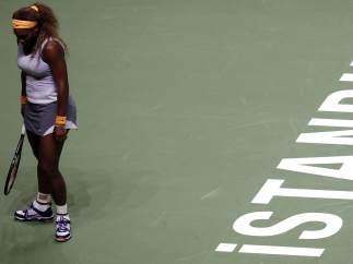 Serena Williams, en la Copa Masters de Estambul 2013