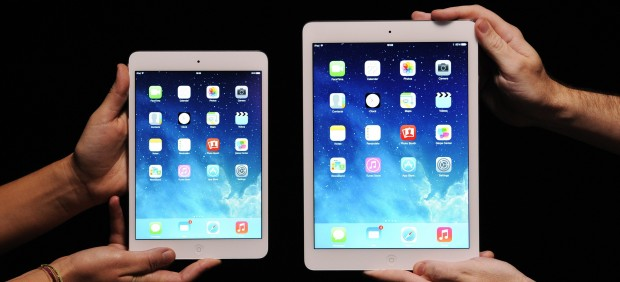 Apple lanza el iPad Air y el iPad Mini con pantalla de retina y anuncia el OS X Mavericks gratis