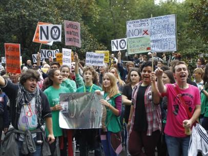 Manifestaci�n en Madrid 24-O