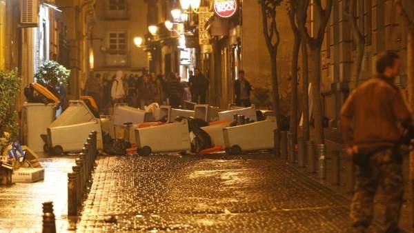Vandalismo en Madrid