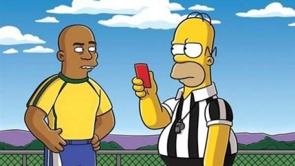 'Los Simpson' jugarán el Mundial