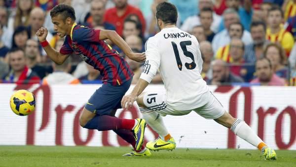 """El Madrid reclama dos penaltis """"claros"""" y los culés responden: """"Este año no se pueden quejar"""""""