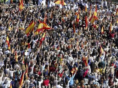 Multitud en Colón contra la 'sentencia Parot'