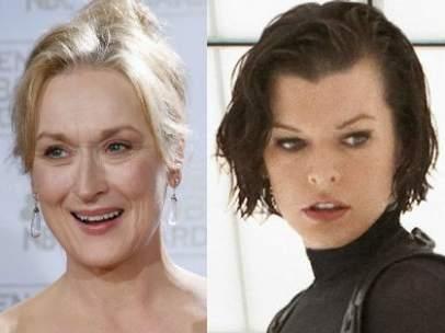 Meryl Streep, Milla Jovovich y Cameron Díaz