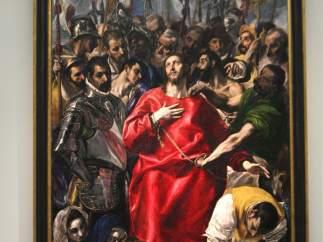 Presentación en el Museo del Prado de 'El Expolio' de El Greco.
