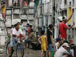 Día de Todos los Santos en Filipinas