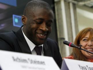 Yaya Touré, embajador de la ONU