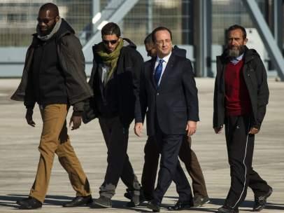 Franceses liberados