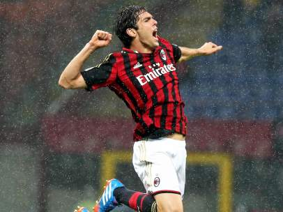 Kaka con el Milan