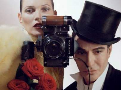 Galliano y Kate Moss en la portada de 'Vogue'
