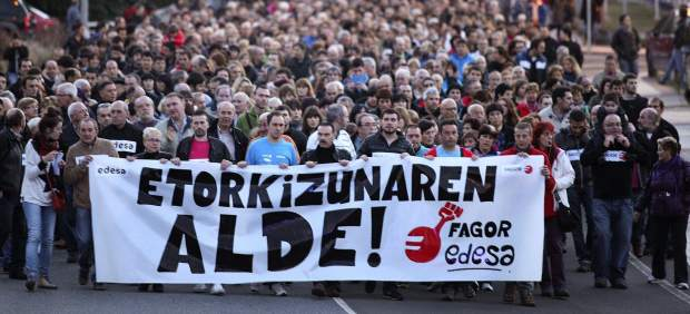 Manifestaci�n Fagor
