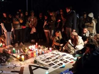 Vigilia por las víctimas del Madrid Arena