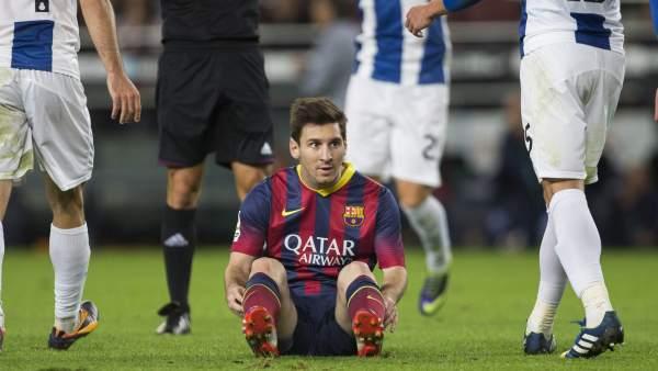La peor racha de Leo Messi desde hace dos años y medio: lleva cuatro jornadas sin marcar