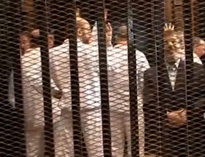 Se suspende la primera sesión del juicio a Morsi