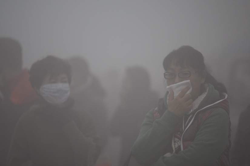 Resultado de imagen para contaminacion en china 2017