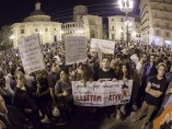 Protesta de los trabajadores de la RTVV