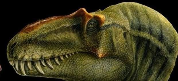 Imagen recreada del dinosaurio descubierto.