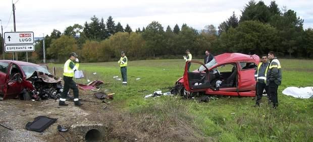 El tramo más peligroso de la red estatal de carreteras está en Lugo, según el último informe de ...