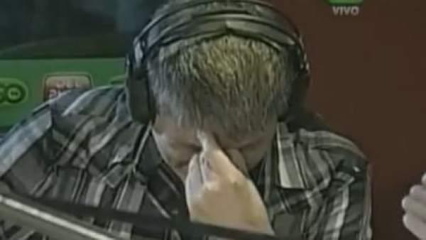 El periodista argentino Pablo Ladaga