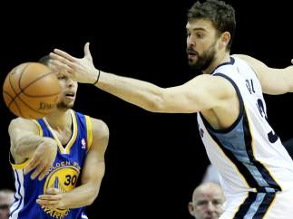 Stephen Curry y Marc Gasol