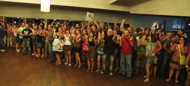 Protesta de docentes en Guadalajara