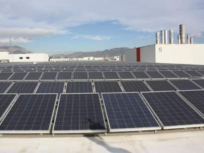 Las placas fotovoltaicas de Seat en Martorell