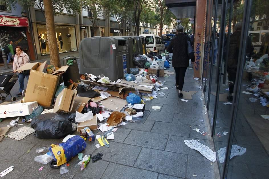 Huelga de limpieza en madrid cu l es el origen del - Trabajo de jardinero en madrid ...